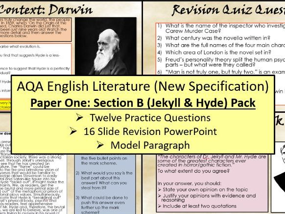 Jekyll and Hyde Exam Questions
