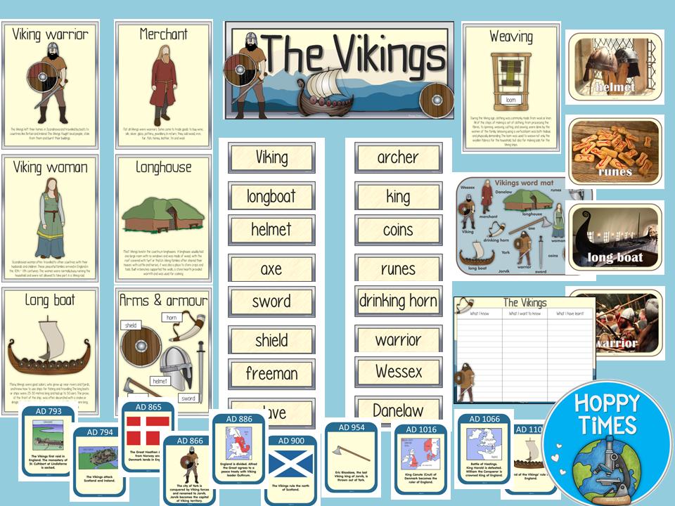 The Vikings Display