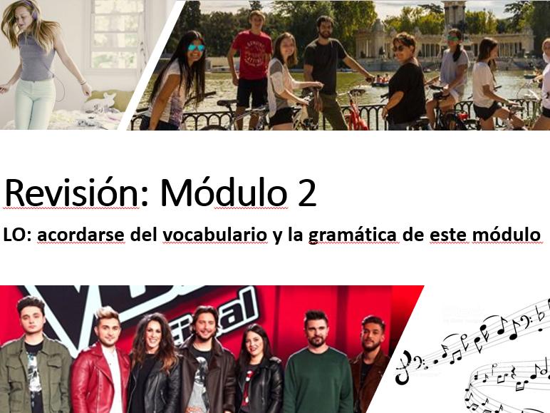 Viva 2 Module 2 revision activities