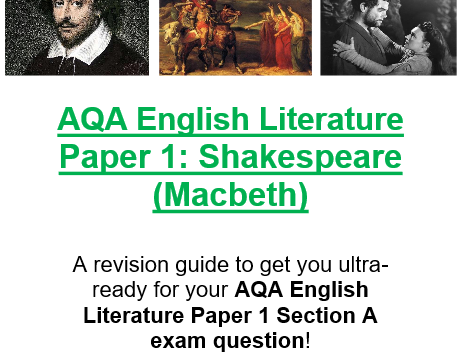 aqa english literature b coursework mark scheme