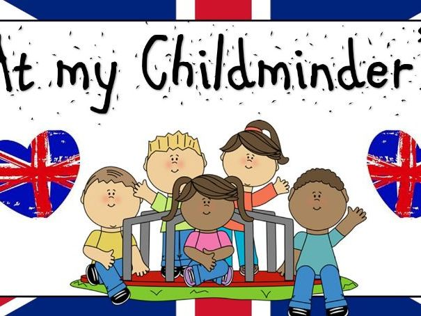 British Values Childminder Display