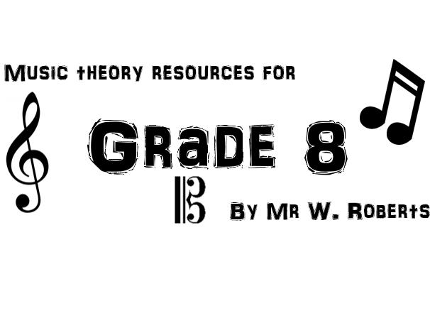 Grade 8 theory bundle
