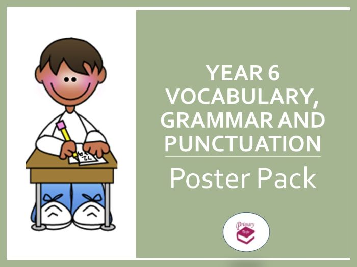 Year 6 SPAG Poster Pack