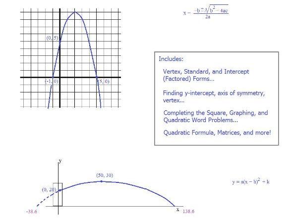 Complete Quadratics Overview