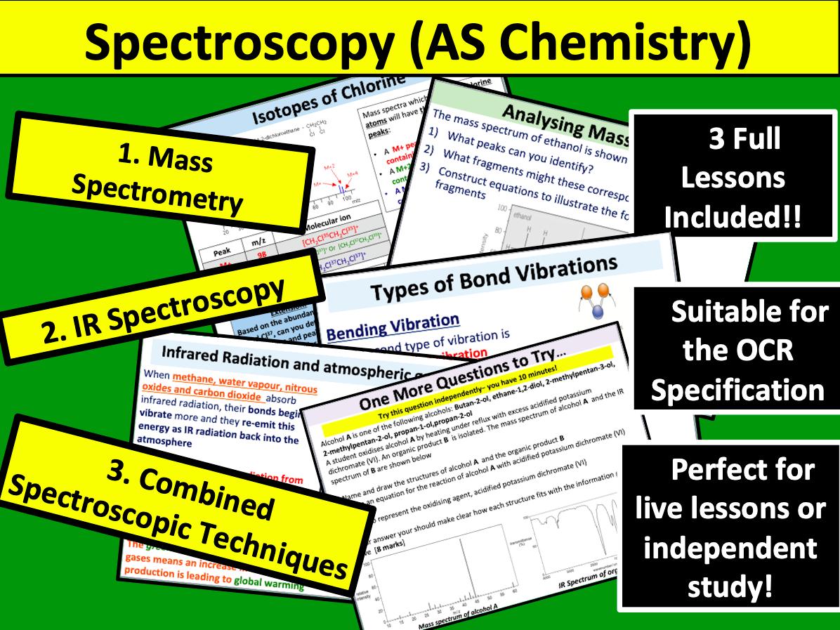 Spectroscopy (AS Chemistry)