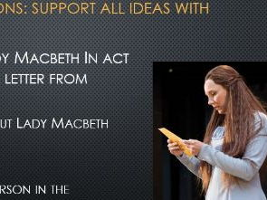 Macbeth Act 3 - summaries and actvivites multilesson
