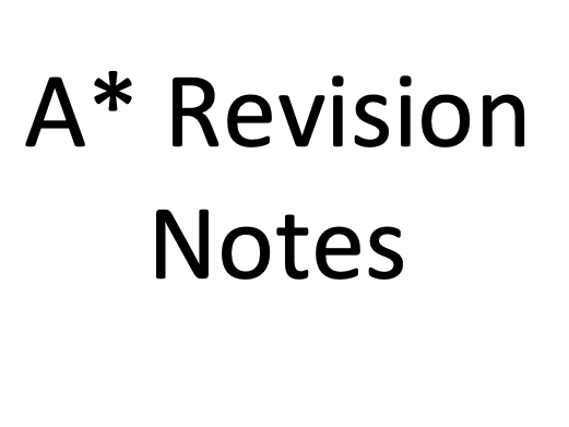 A* AQA AS-Level Biology (New Specification) Revision Notes