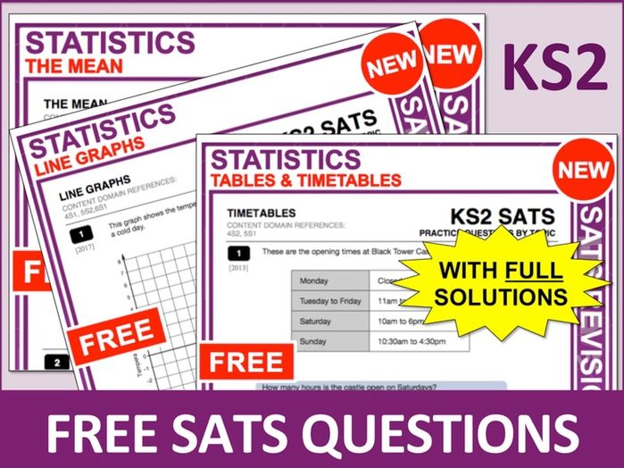KS2 Maths Bundle (Statistics)