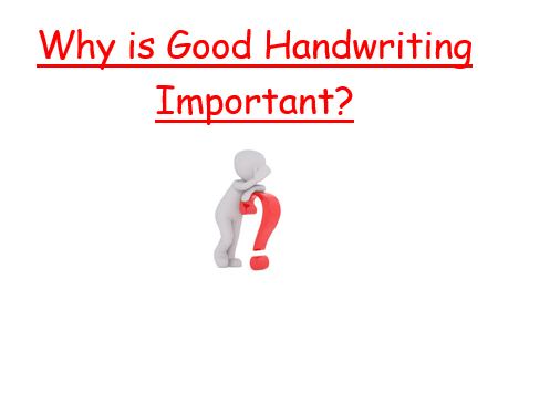 Improving Handwriting Worksheet
