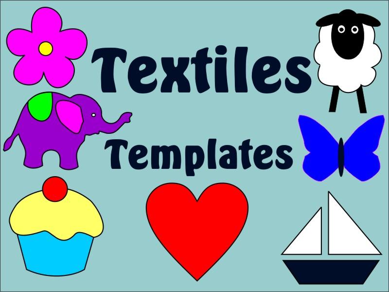 Textile Applique Templates KS3 KS4