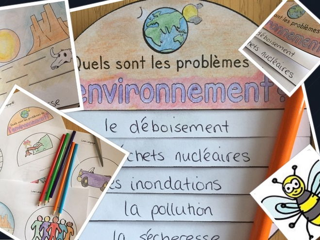 French environmental issues booklet