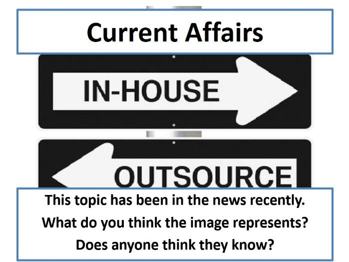 Current Affairs Form Time Activity - Outsourcing