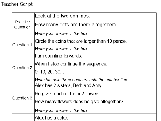 Year 2 SATs Reasoning Prep