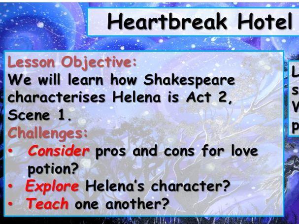 A Midsummer Night's Dream - Helena's Heartbreak Over Demetrius
