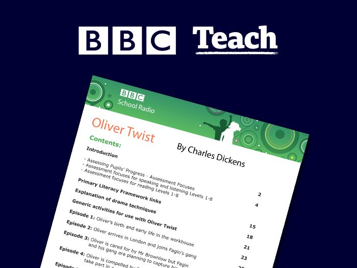 KS2 English - Oliver Twist by Charles Dickens