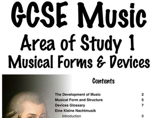 EDUQAS GCSE Music AoS Booklets