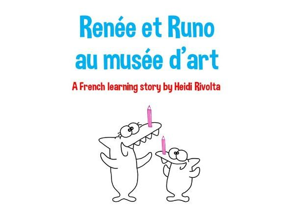 French colours - French story time with Renee and Runo