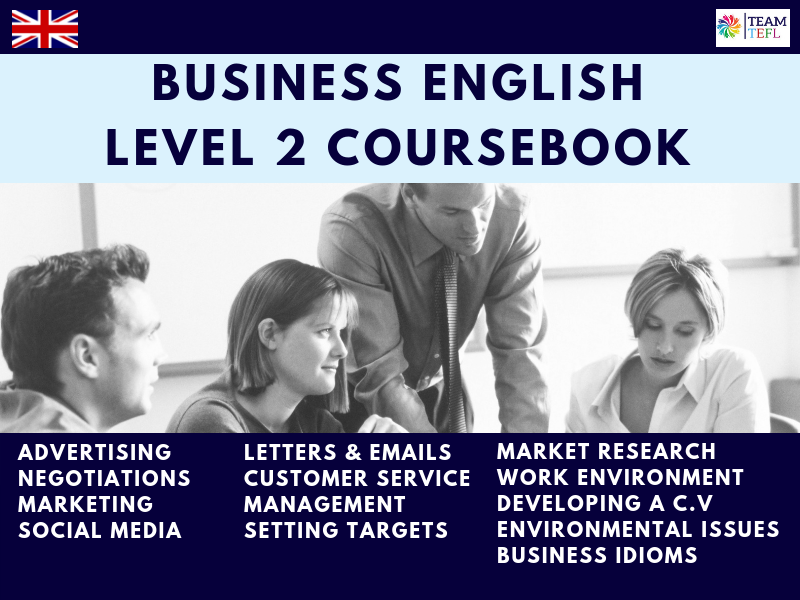 Business English Level 2 Coursebook For ESL