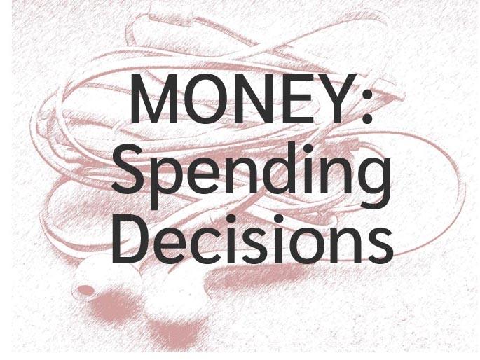 Money: Spending Decisions Worksheet