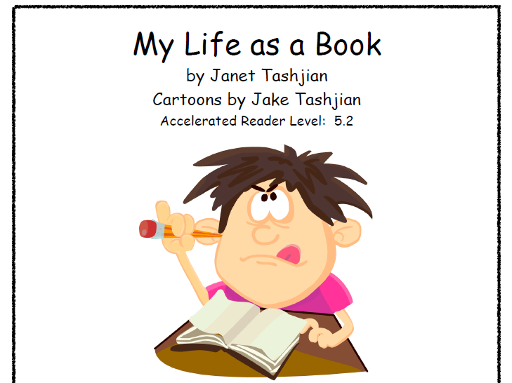 My Life As a Book - Literature Unit - Reading Groups - Book Study