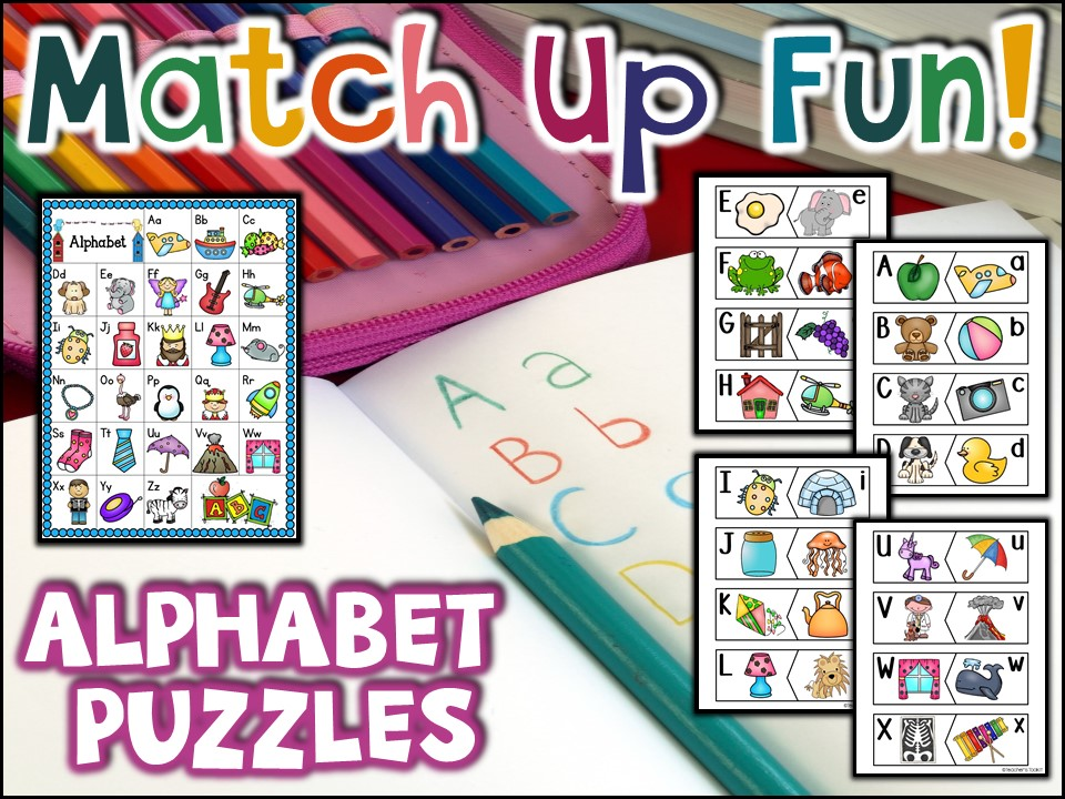 FREE:  Alphabet Puzzles