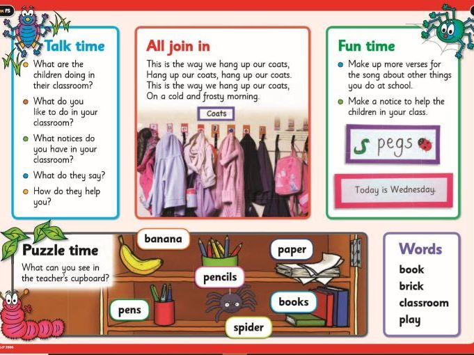 EYFS: English/Literacy Guided Reading- Encouraging talk about non-fiction texts.