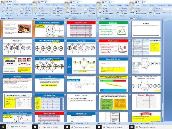 3.3.4 Critical Path Analysis - Edexcel Theme 3