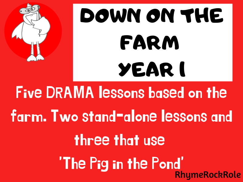 Down on the Farm - drama lessons, Y1