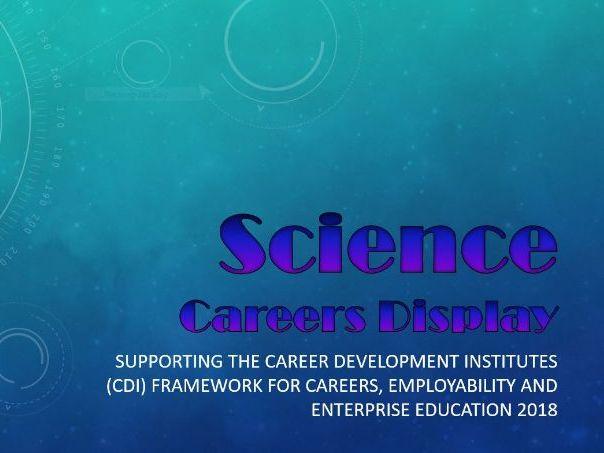 Science Careers Display
