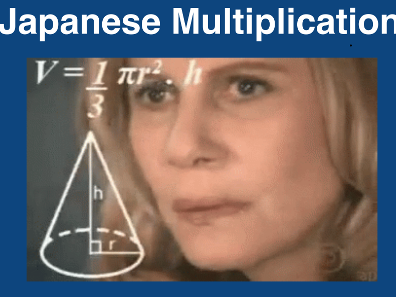 Japanese Multiplication Flipchart and Activities