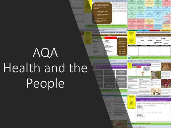 AQA Health and the People SOW
