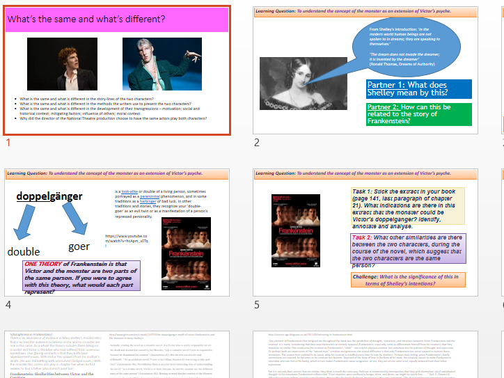 character essays sample answers for shakespeare s macbeth by  11 weeks worth of lesson ppts on frankenstein