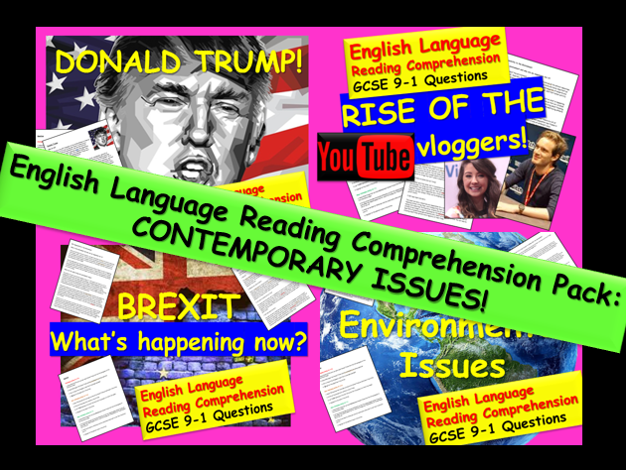 Reading Comprehensions: English Language