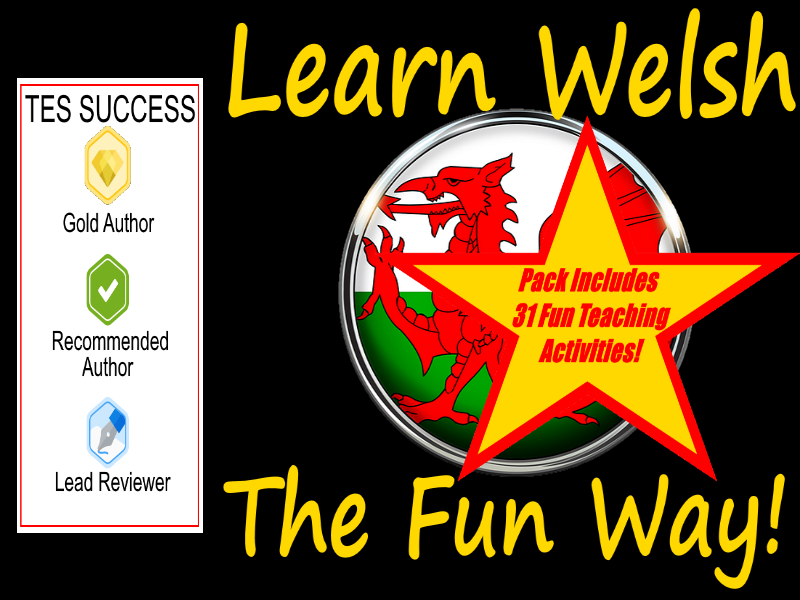 114 Welsh Bingo Game Cards + 31 Fun Teaching Activities For These Cards