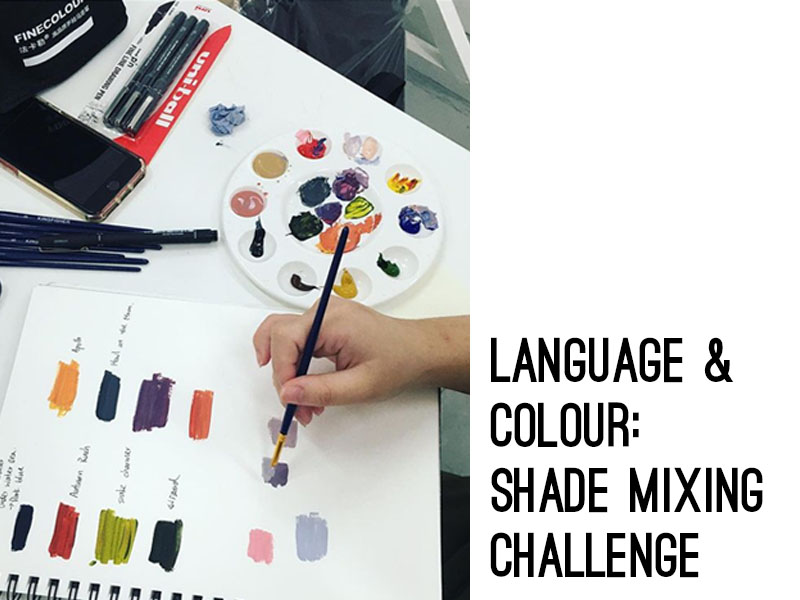 Language and Colour: Shade Mixing Challenge