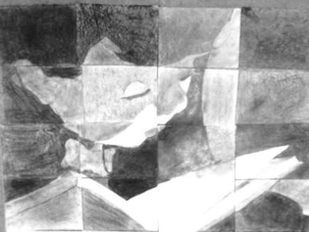 Book Week gridded images for collaborative work