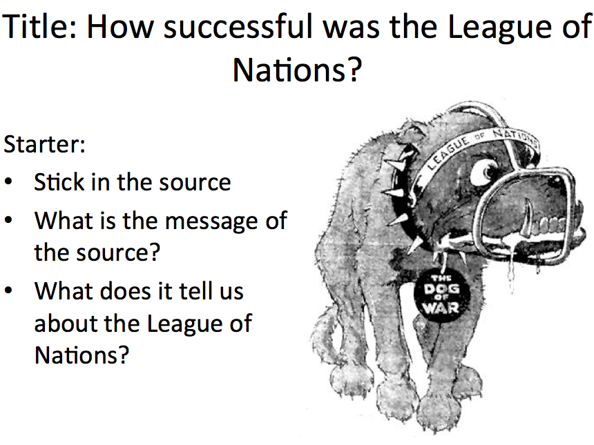 League of Nations - Lesson 11 recap of successes and failures