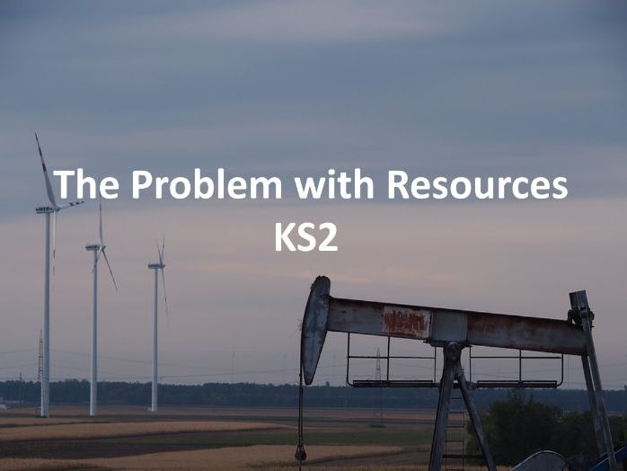 Key Stage 2 Geography - The Problem With Resources