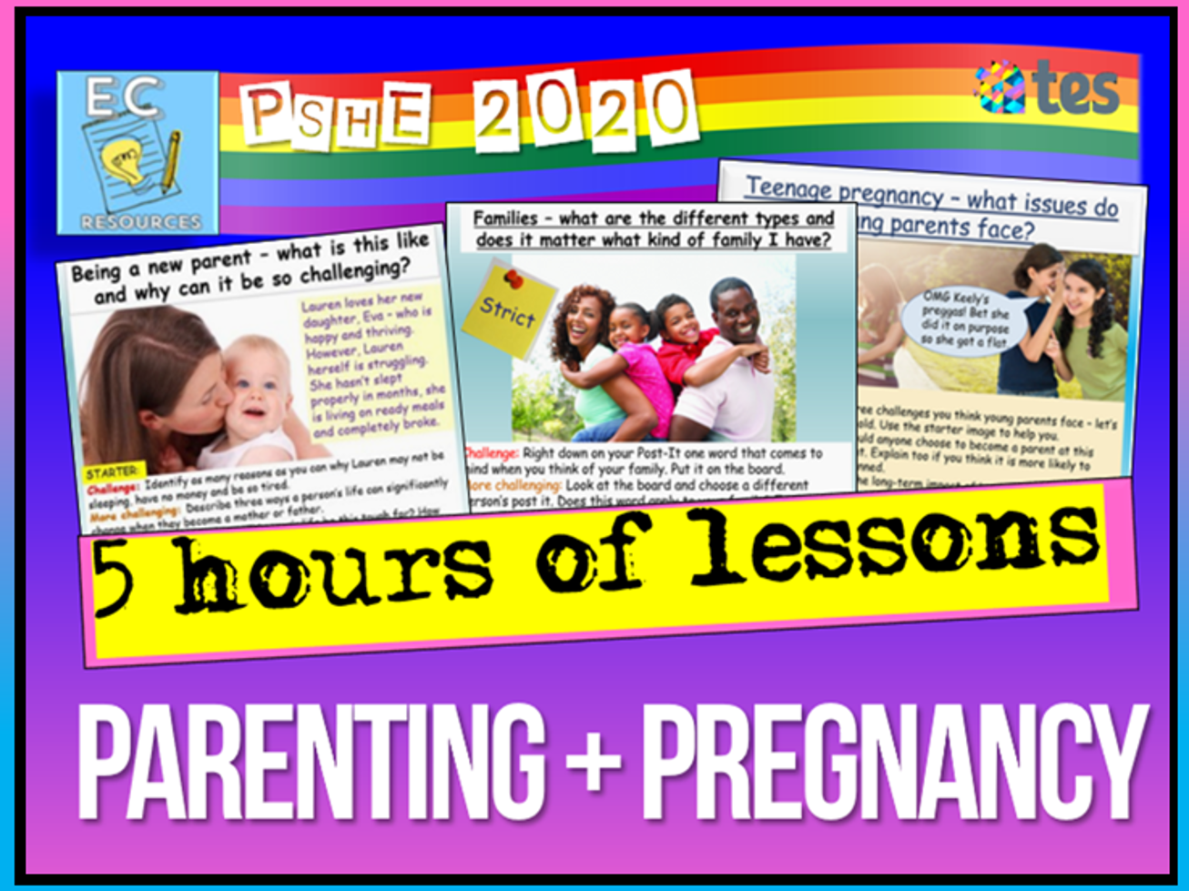Pregnancy + Parenting PSHE RSE
