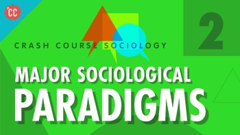 Crash Course Sociology E# 2 Major Sociological Paradigms Questions & Key