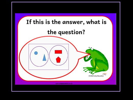Numerical Reasoning Activity Cards and PowerPoint Presentation KS1