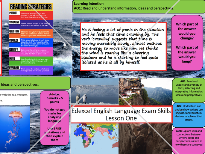 Edexcel IGCSE English Language 2019