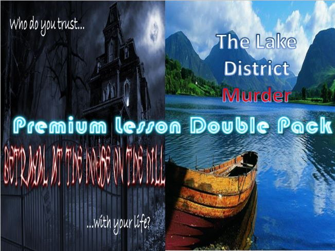 Premium Lesson Double Pack - Betrayal on House on the Hill/The Lake District Murder