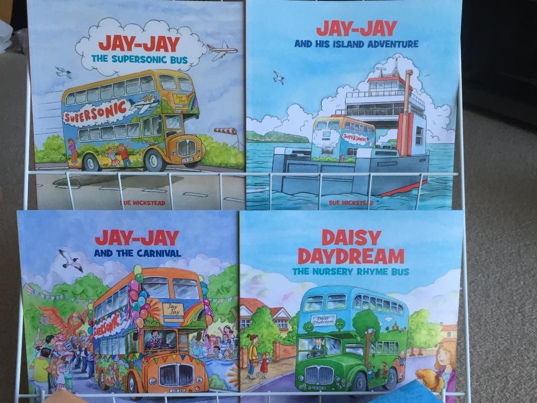 Jay-Jay Bus Story Books