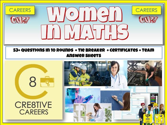 Women in Maths - Careers Quiz