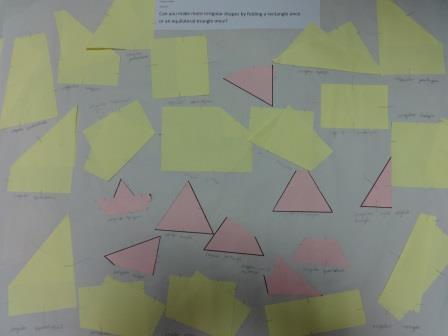 2D shape, lively polygons investigation, naming regular and irregular shapes, properties of shape