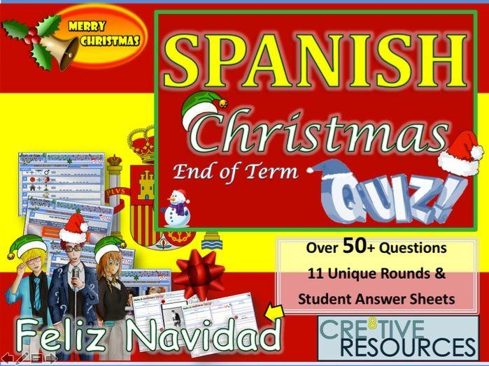 Spanish Christmas Quiz - Feliz Navidad