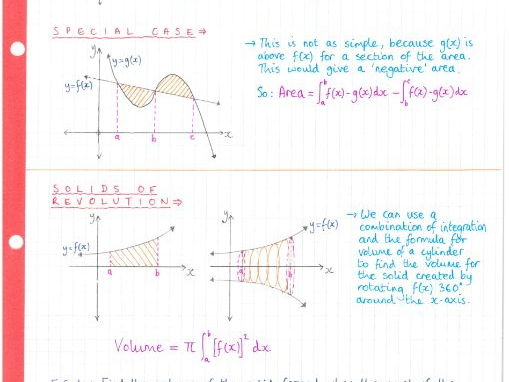 IB Maths SL - Topic 6 Calculus - Notes
