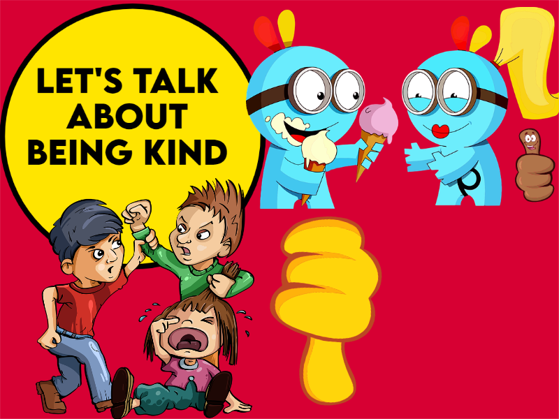 Let's Talk about Being Kind