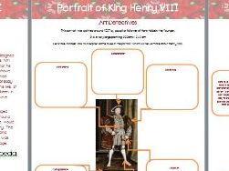 Free Resource Henry VIII Art Detective